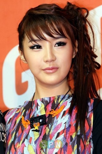 2ne1 Park Bom makeup