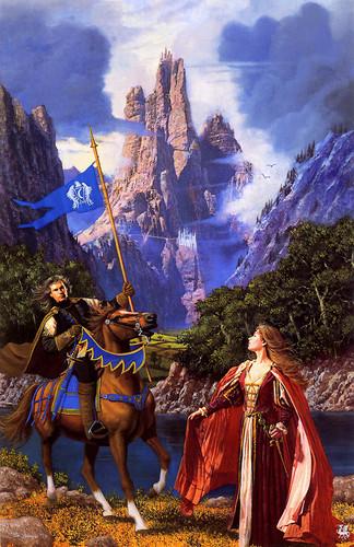 Brynden Tully & Catelyn Stark