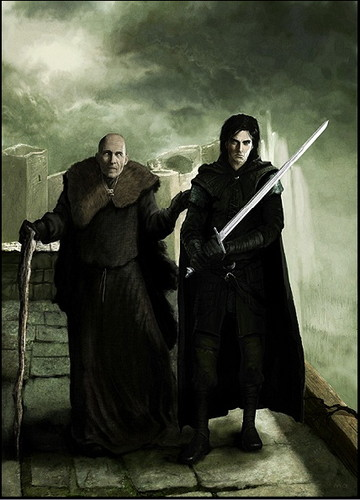 Maester Aemon & Jon Snow - a-song-of-ice-and-fire Photo