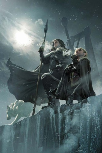 A Song of Ice and Fire wallpaper titled Jon Snow & Tyrion Lannister
