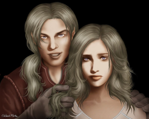 Viserys & Daenerys Targaryen - a-song-of-ice-and-fire Photo