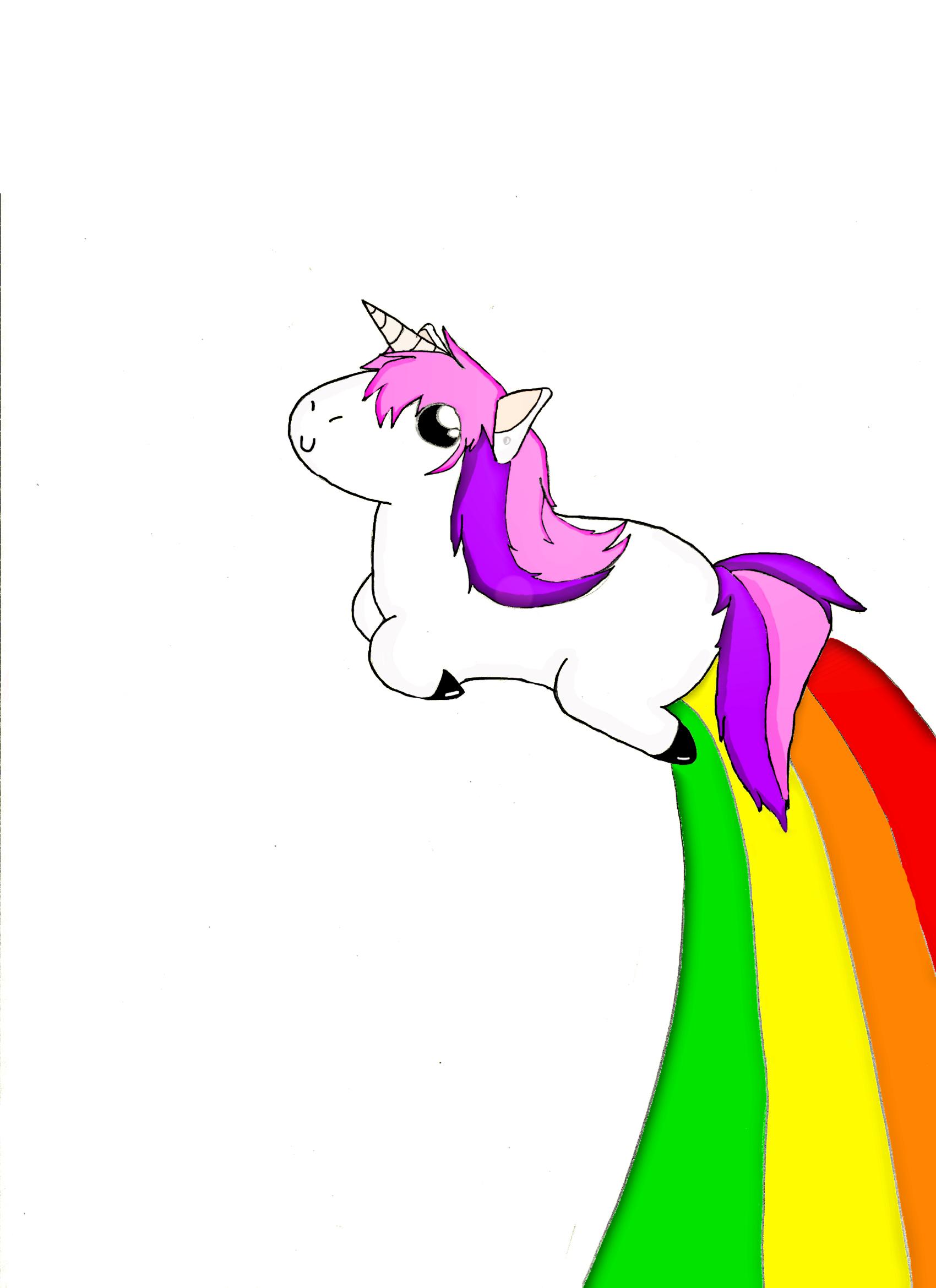 animated unicorn clipart - photo #30