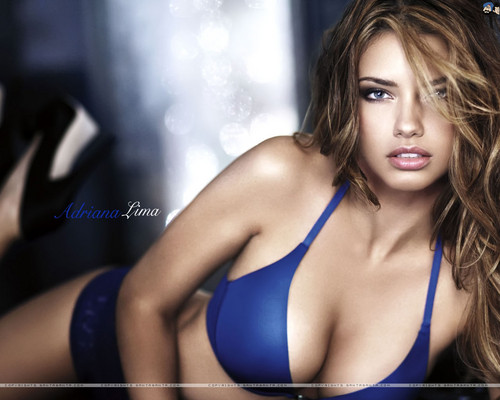 adriana lima fondo de pantalla probably with a bikini entitled Adriana Lima