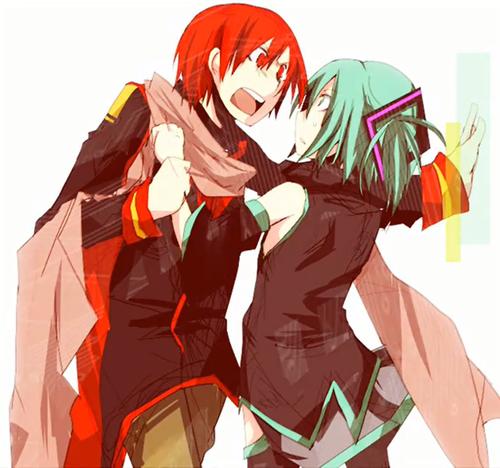 Akaito x Mikuo
