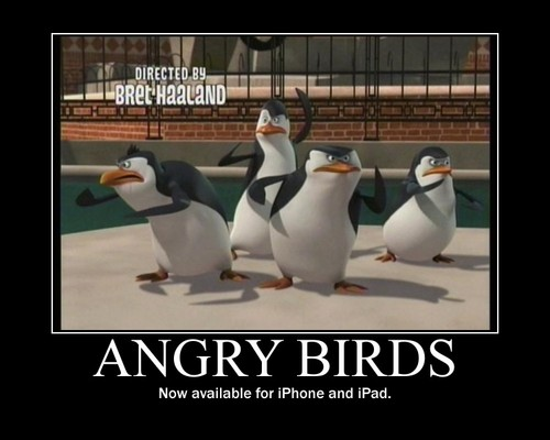 Angry Birds Motivational Poster