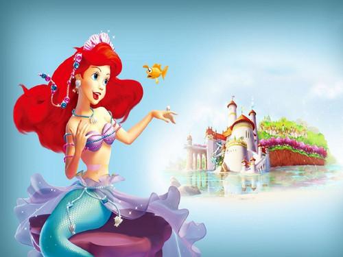 Disney Princess wallpaper called Ariel Wallpaper