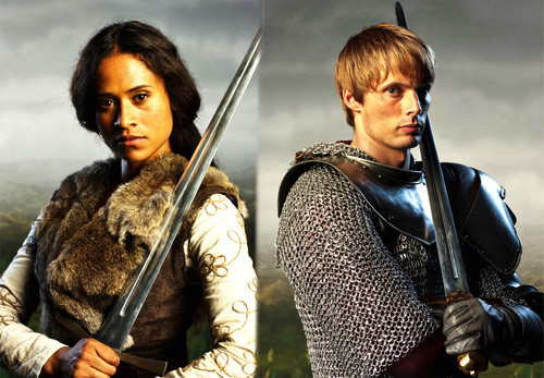 Arthur and Gwen warrior king and queen s4