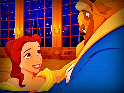 Beauty and the Beast Обои