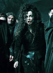 Bellatrix Lestrange wallpaper probably with a surcoat called Bellatrix Lestrange