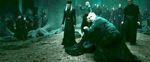 Bellatrix Lestrange fond d'écran called Bellatrix and Death Eaters