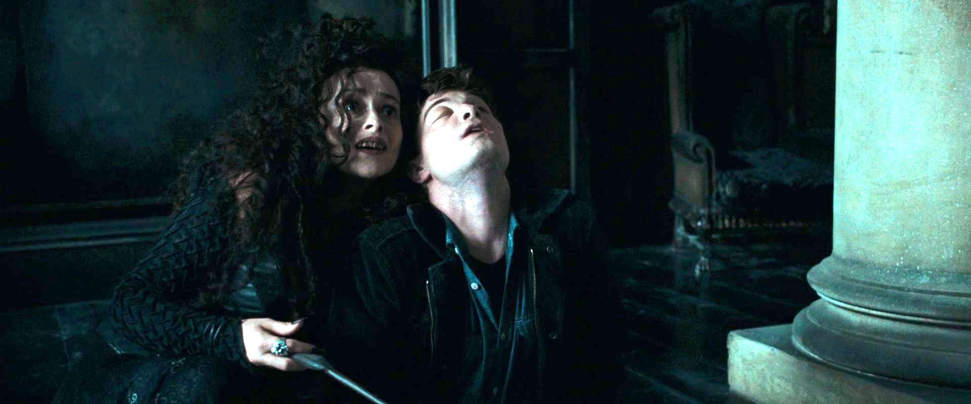 Bellatrix and Harry