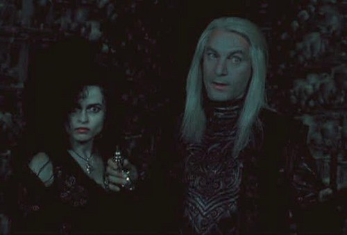 Bellatrix and Lucius