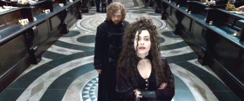 Bellatrix and Ron