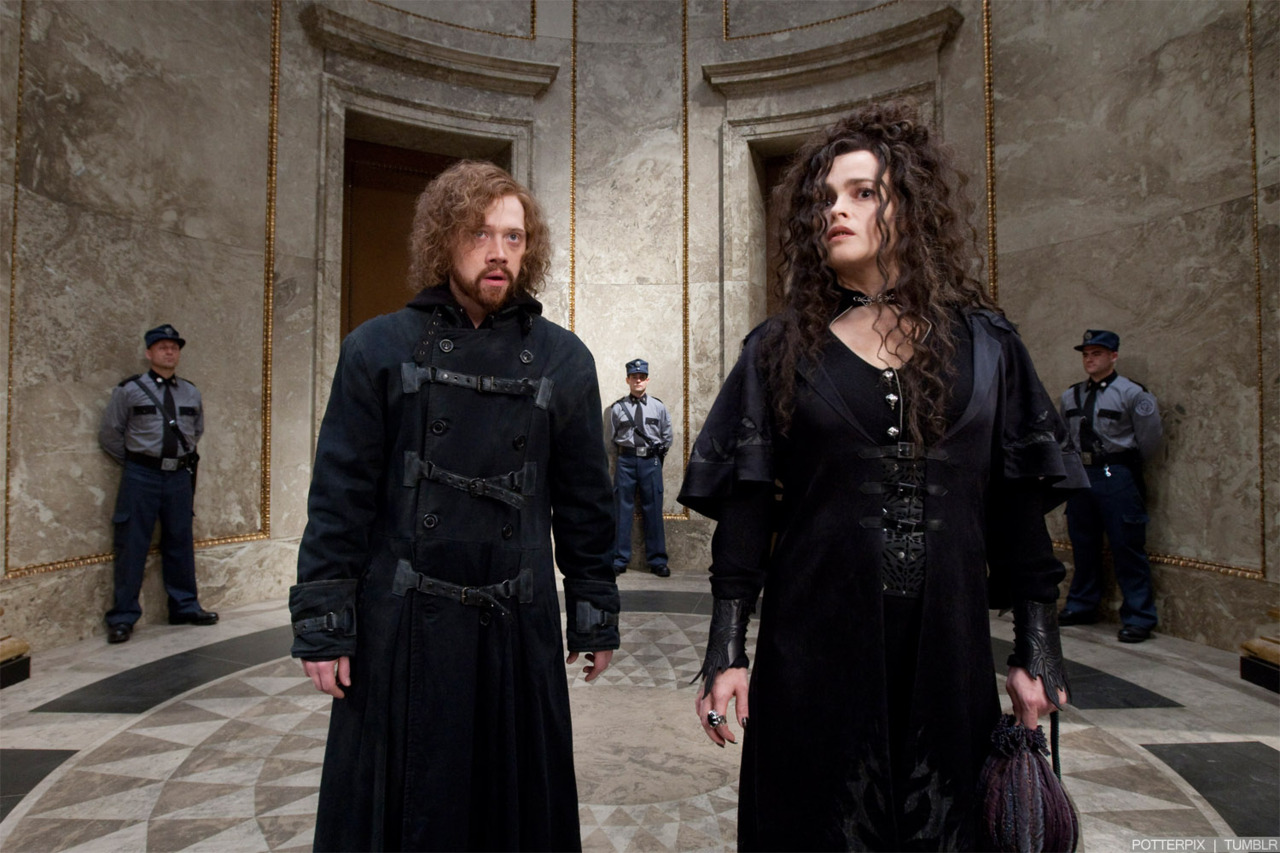 Bellatrix and Ron