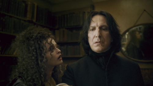 Bellatrix and Snape