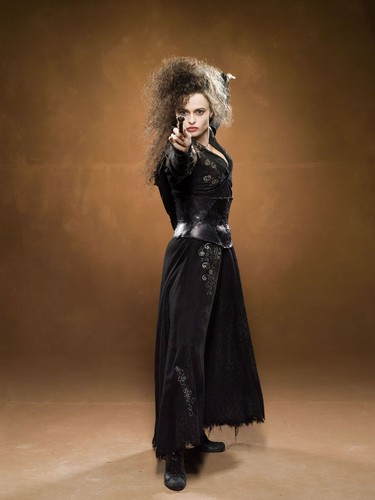 bellatrix lestrange wallpaper probably containing a koktil, koktail dress and a makan malam dress called Bellatrix promo
