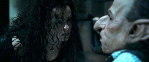 Bellatrix with Griphook