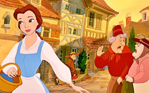 Belle kertas dinding