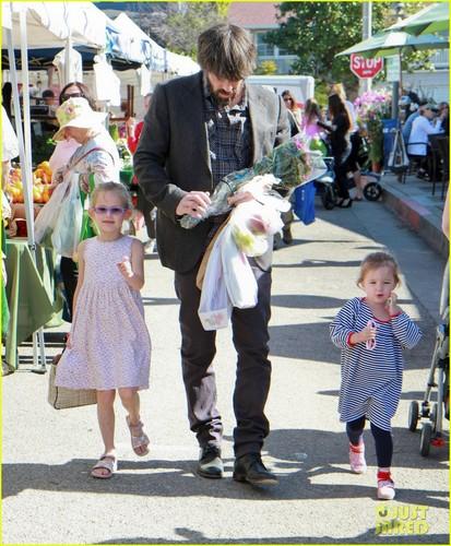 Ben Affleck and girls 2012