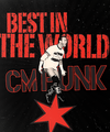 Best In The World - cm-punk fan art