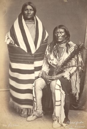 Blackfoot and his wife