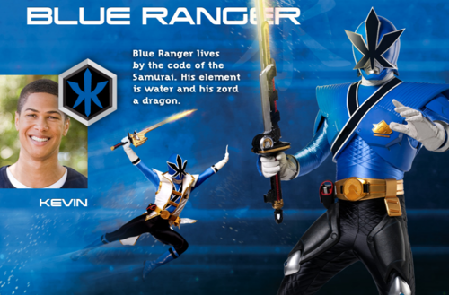 Blue Super Samurai Ranger