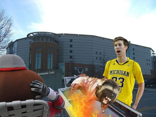 Buckeyes Roast The Wolverines
