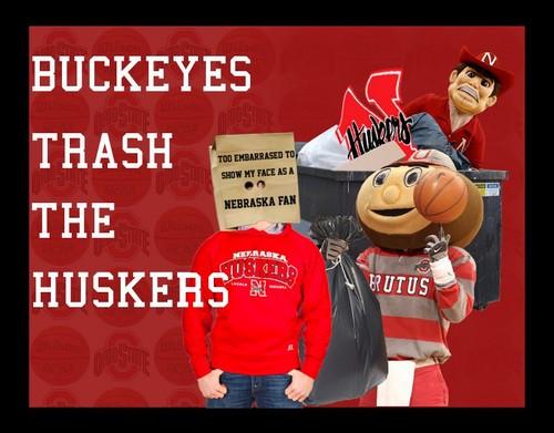 Buckeyes Trash The Huskers