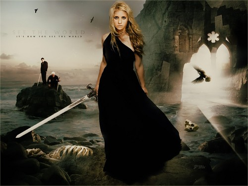 Buffy, Angel &amp; Spike - buffy-the-vampire-slayer Fan Art