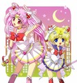 Changed roles - sailor-mini-moon-rini fan art