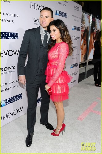 Channing &amp; Jenna - channing-tatum-and-jenna-dewan Photo