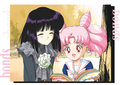 Chibiusa & Hotaru - sailor-mini-moon-rini photo