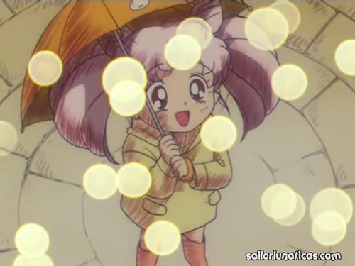 Sailor Mini moon (Rini) wallpaper probably containing animê entitled Chibiusa