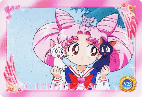 Chibiusa with 고양이