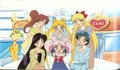 Chibiusa with her friends