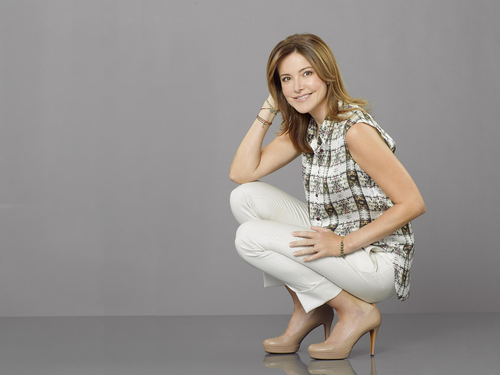 Christa Miller wallpaper possibly containing bare legs and tights called Christa Miller