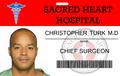 Christopher Turk ID Card
