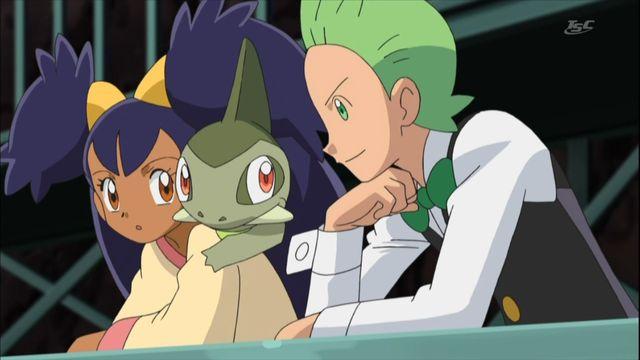 Cilan and Iris - Pokémon Photo (28984187) - Fanpop