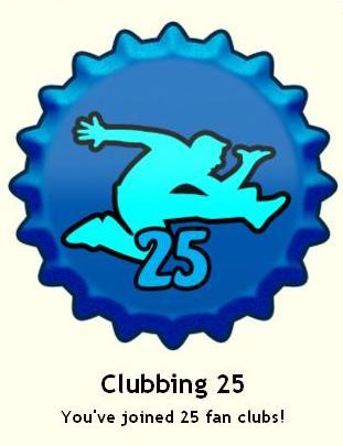 Clubbing 25 ٹوپی