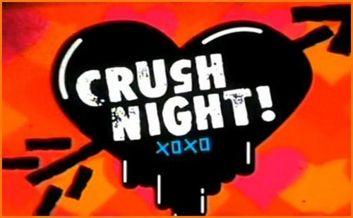 Nickelodeon karatasi la kupamba ukuta called Crush Night Logo