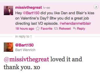 DAIR HUGE SPOILER ABOUT THE VALENTINE 'S EPISODE....
