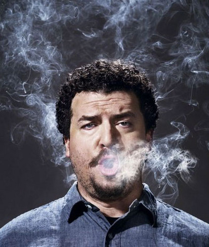 Danny McBride wallpaper with a triceratops called DM