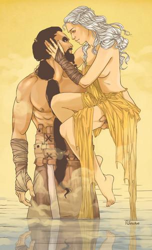 Daenerys & Khal Drogo
