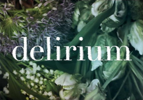 Delirium wallpaper with a summer hyacinth, an indian hemp, and common tobacco called Delirium