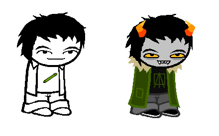 Homestuck fond d'écran called Echo