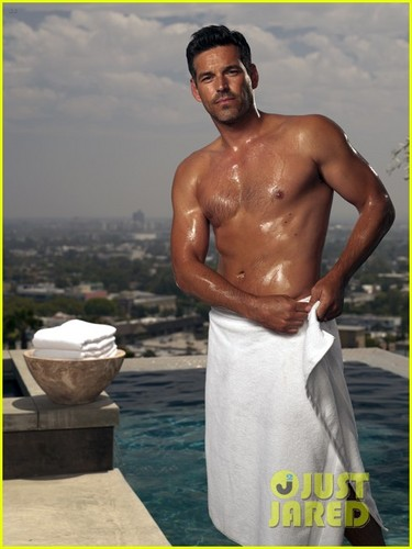 Eddie Cibrian: Shirtless 'Charisma' Images!