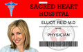 Elliot Reid ID Card - scrubs fan art