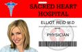 Elliot Reid ID Card