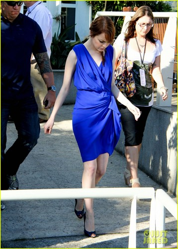 Emma Stone: 'Amazing Spider-Man' Sneak Peek in Rio!