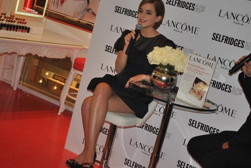 Emma Watson at Selfridges